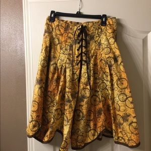 Dresses & Skirts - Steam punk style fashion skirt